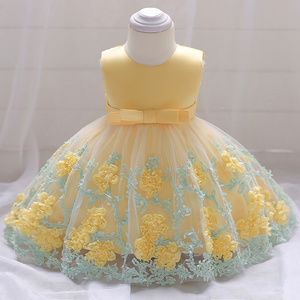 Other - Baby Girl Yellow Mothers Day Dress 6 mo to 3T